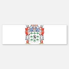 Gallagher Coat of Arms - Family Cre Bumper Bumper Bumper Sticker