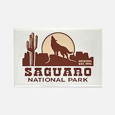 Saguaro National Park Rectangle Magnet