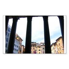 Pantheon Rectangle Decal