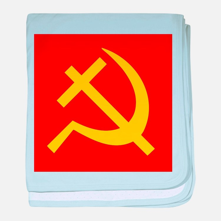 Emblem of Christian Socialism / Chris baby blanket