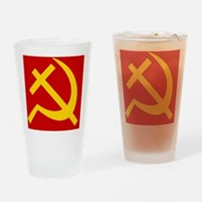 Emblem of Christian Socialism / Chr Drinking Glass