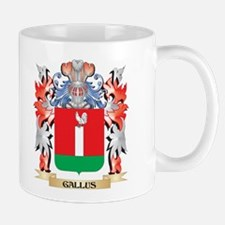 Gallus Coat of Arms - Family Crest Mugs