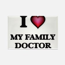 I Love My Family Doctor Magnets
