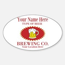 Your Brewing Company Decal