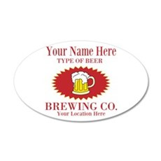 Your Brewing Company Wall Decal