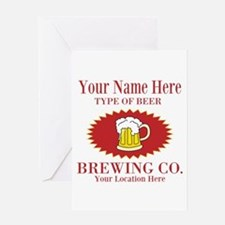 Your Brewing Company Greeting Cards
