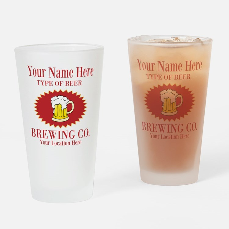 Your Brewing Company Drinking Glass