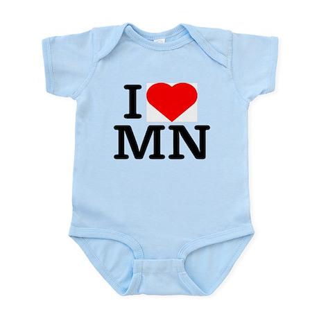 I Love Minnesota - Infant Creeper