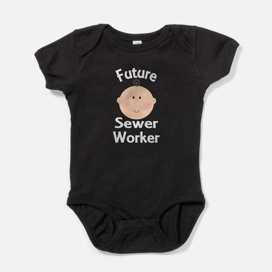 Future Sewer Worker Baby Bodysuit