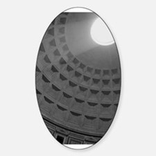 Pantheon Oval Decal