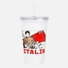 Stalin Acrylic Double-wall Tumbler