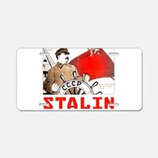Stalin Aluminum License Plate