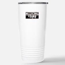 Communism: Marx, Castro Stainless Steel Travel Mug