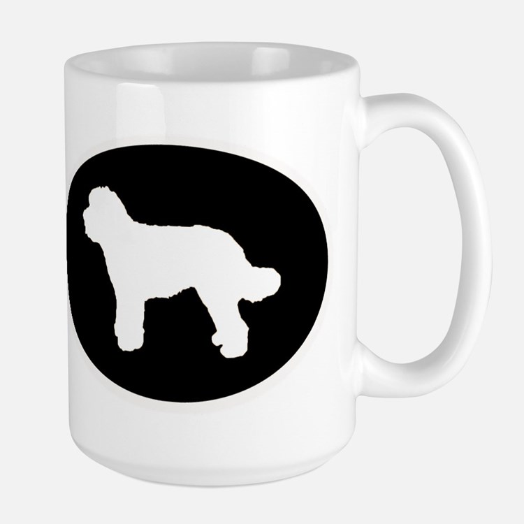 Goldendoodle Labradoodle Silhouette Coffee Mugs ...