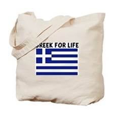 GREEK FOR LIFE Tote Bag