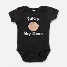 Future Sky Diver Baby Bodysuit