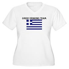 GREEK DRINKING TEAM T-Shirt