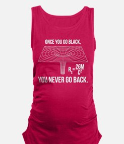 Once you go black... Maternity Tank Top