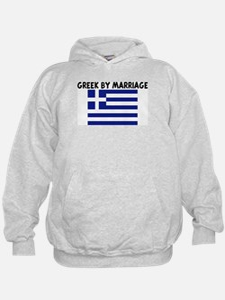 GREEK BY MARRIAGE Hoodie