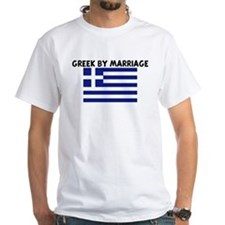 GREEK BY MARRIAGE Shirt