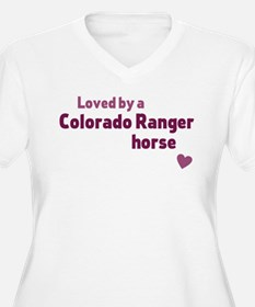 Colorado Ranger horse Plus Size T-Shirt