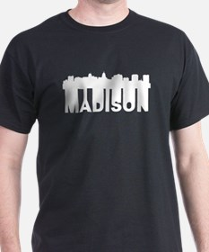 Roots Of Madison WI Skyline T-Shirt