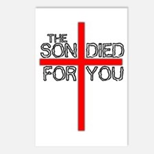 The Son Died For You Christia Postcards (Package o