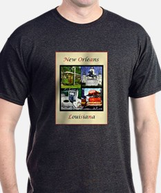 new orleans poster completedcccc T-Shirt