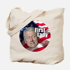 Bill First Lady Tote Bag