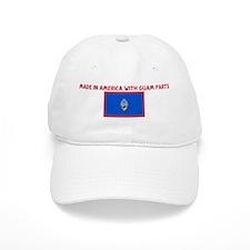 MADE IN AMERICA WITH GUAM PAR Baseball Cap