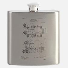 1908 C. A. Edlund Surfacing Machine Flask