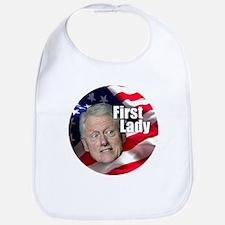 Bill First Lady Bib