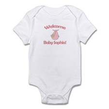 Welcome Baby Sophia Infant Bodysuit