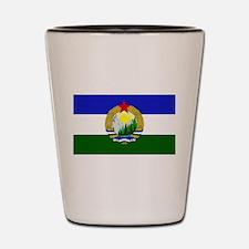 Flag of Socialist Cascadia Shot Glass