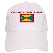 I WILL NEVER FORGET GRENADA Cap