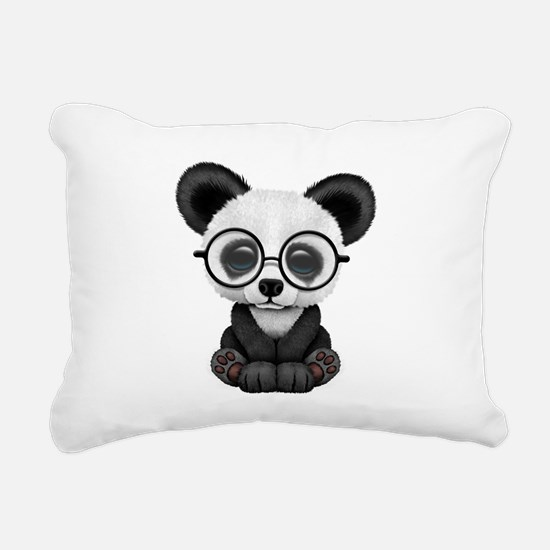 Unique Panda Rectangular Canvas Pillow