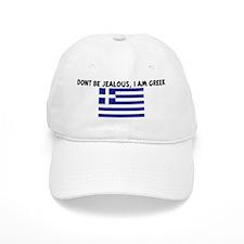 DONT BE JEALOUS I AM GREEK Baseball Cap
