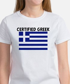 CERTIFIED GREEK Tee