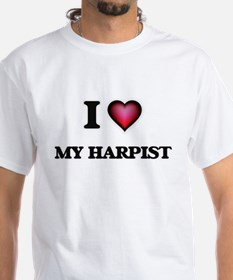 I Love My Harpist T-Shirt