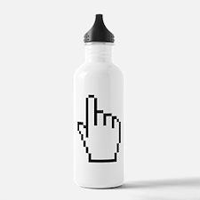 HAND CURSOR / POINTER Sports Water Bottle