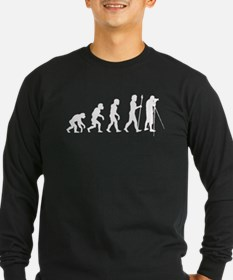 Photographer Evolution Long Sleeve T-Shirt