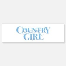 Country Girl Bumper Bumper Bumper Sticker