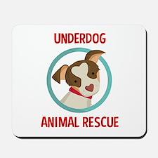 Underdog Official Logo Mousepad