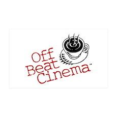 Off Beat Cinema Wall Decal