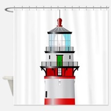 The Top Of The Lighthouse Shower Curtain