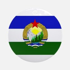 Flag of Socialist Cascadia Round Ornament