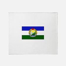 Flag of Socialist Cascadia Throw Blanket