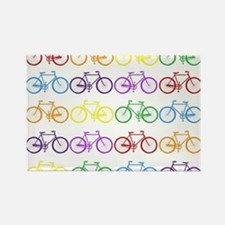 Rack O' Bicycles Magnets