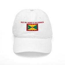 HALF MY HEART IS IN GRENADA Cap