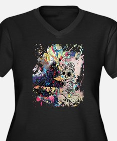 Sugar Skull Day of the Dead Arts Plus Size T-Shirt